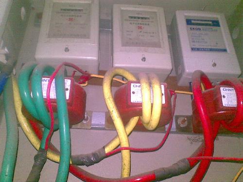 三相电流表互感接线图